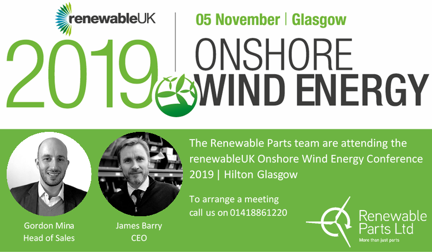 RenewableUK's Onshore Wind Energy conference