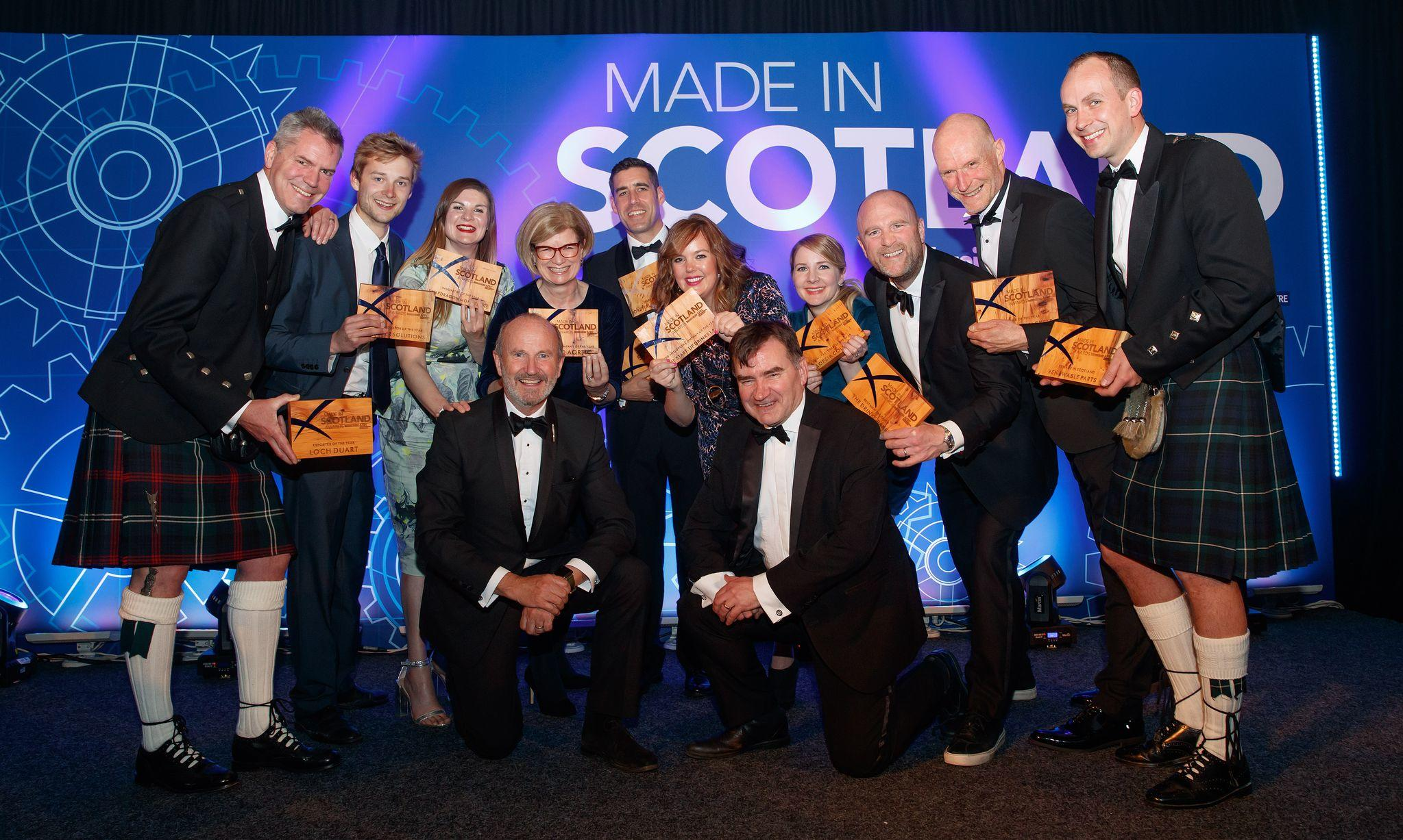 Winners Remade in Scotland Award!