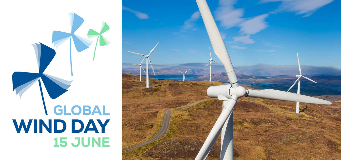 Happy Global Wind Day! 🌍🌬️